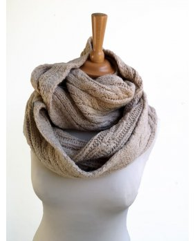Snood Rome Beige