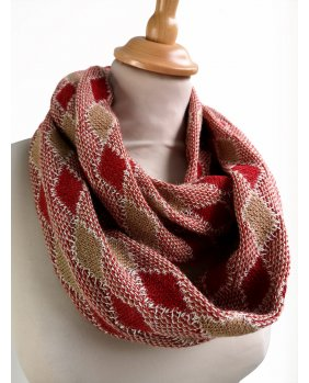 Snood Séoul Rouge