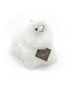Petite Peluche Alpaga Ivory
