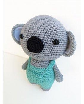 Koala Amigurumi vert