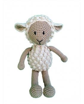 Mouton amigurumi Beige