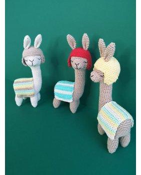 Lamas Amigurumi Pack