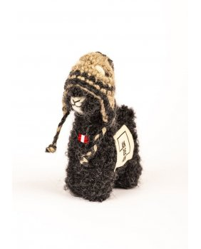 Mini Alpaga Amazing Noir