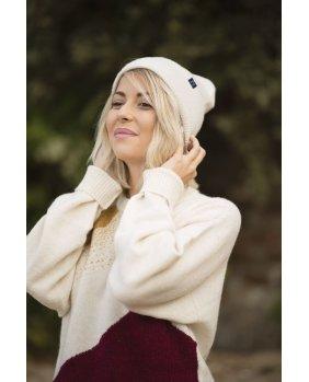 Bonnet Los Angeles Blanc