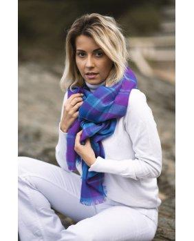 Étole Sydney Bleu - Violet