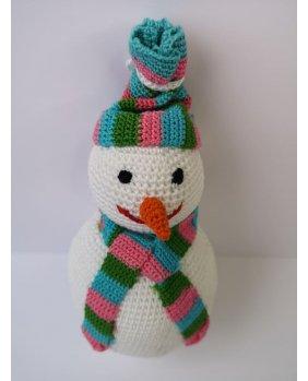 Bonhomme de neige Amigurumi
